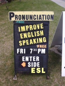 An improvement: Improve Your English