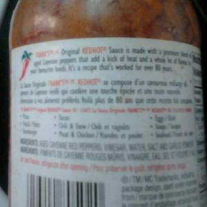 Hot sauce 005